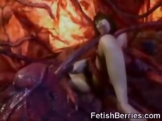 Facialized by Tentacles! asian fetish japanese