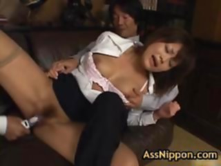 Yuka matsushita gets her amazing ass fucked asian babe big boobs
