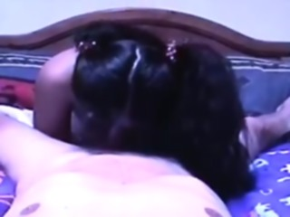Asian Virgin Mail Order Bride Performs Her First Blowjob blowjob amateur brunette