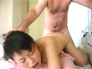 Asian sex from behind asian straight