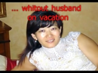 Lustful chinese wife from germany out of hubby on vacation asian chinese wife