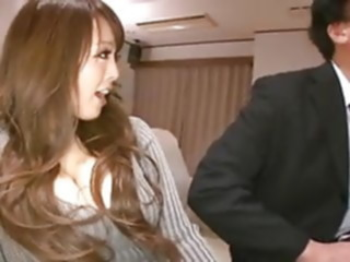5M - Hitomi Tanaka with husband and friend asian japanese big natural tits