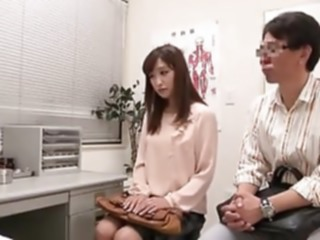 Japanese couple going to fertility clinic asian japanese cheating