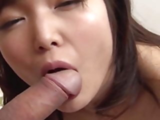 Shino Aoi :: Shino Aoi Full Swing Blow Job 2 - CARIBBEANCOM asian babe blowjob