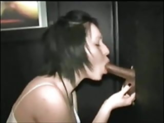 awesome gloryhole cocksucking amateur asian blowjob