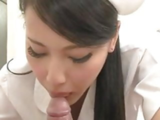 Sexy Japanese Nurse blowjob pornstar japanese
